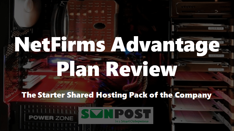 NetFirms Advantage Plan Review