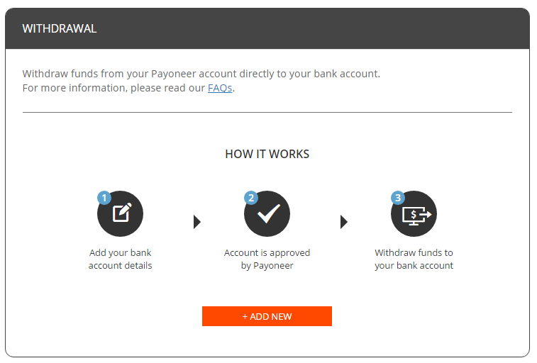 fund transfer to bank account
