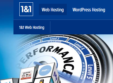 1and1 hosting review