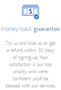 bluehost 30-day money back guarantee