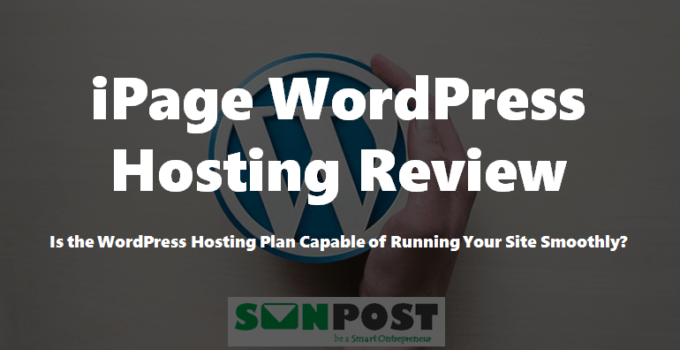 ipage wordpress hosting plan review