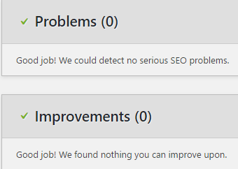 yoast improvement