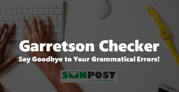 garretson punctuation checker review