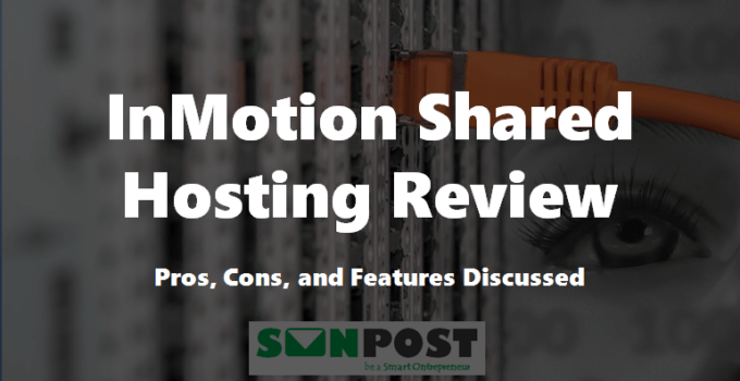inmotion shared hosting review