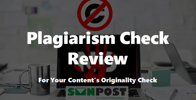 plagiarismcheck review