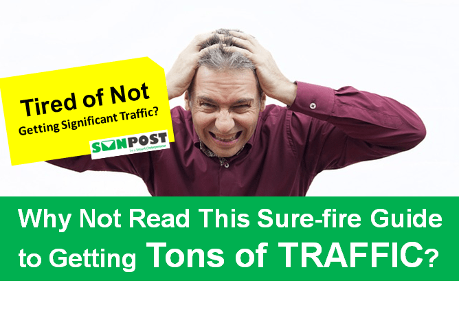 how to get traffic to your blog for free
