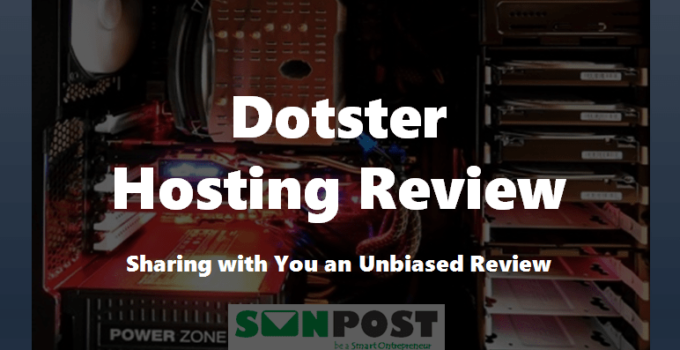 dotster hosting review