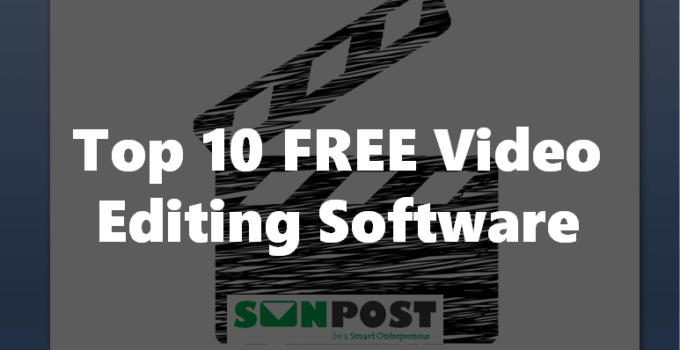 top 10 free video editor software
